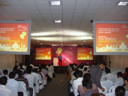 SQLAuthority News - TechEd India - April 12-14, 2010 Bangalore - An Unforgettable Experience TechEdIndia (15)