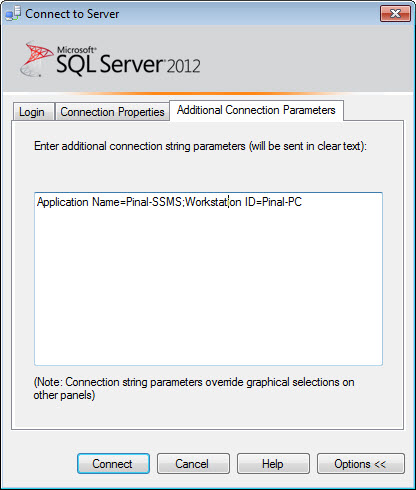 SQL SERVER - How to Hide Yourself from SQL Server? - Guest Post by Balmukund Lakhani advanceconnection1