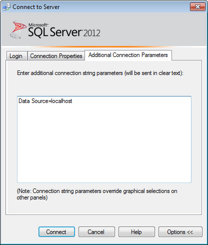SQL SERVER - How to Hide Yourself from SQL Server? - Guest Post by Balmukund Lakhani advanceconnection4
