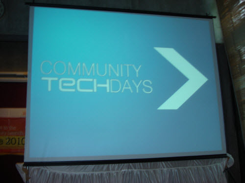 SQLAuthority News – Community Tech Days, Ahmedabad – July 24,2010 AMDCTD01