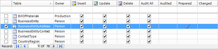SQL SERVER - Auditing and Profiling Database Made Easy with ApexSQL Trigger and ApexSQL Audit image003