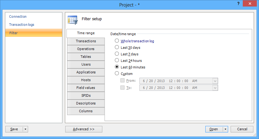 SQL SERVER - Auditing and Profiling Database Made Easy with ApexSQL Trigger and ApexSQL Audit image015