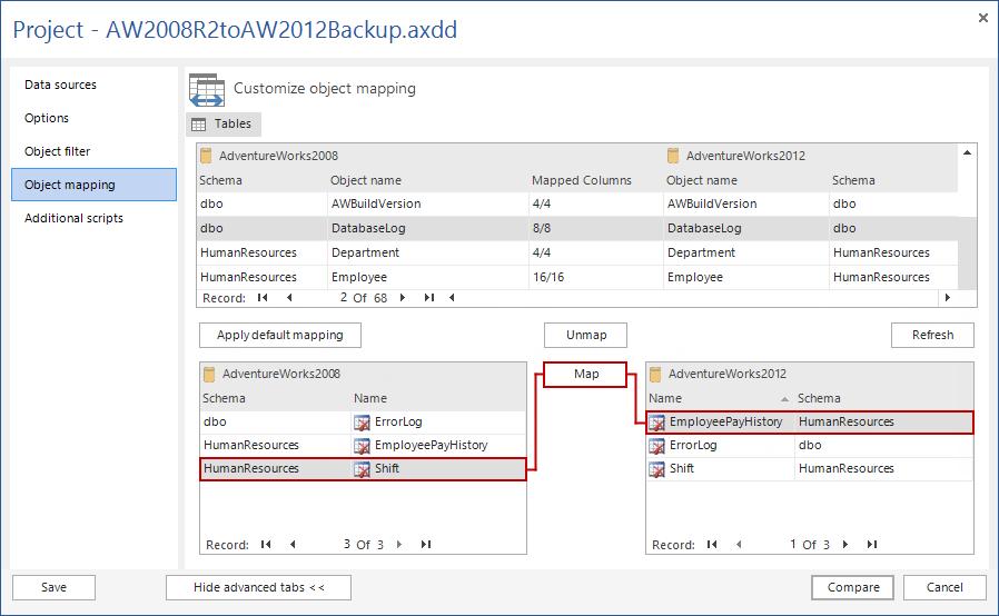 SQL SERVER - SQL Server Data Compare Tool 10
