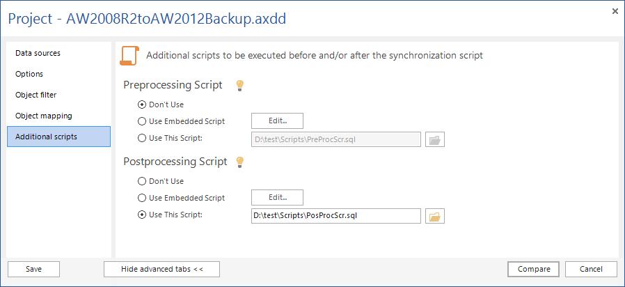 SQL SERVER - SQL Server Data Compare Tool 11