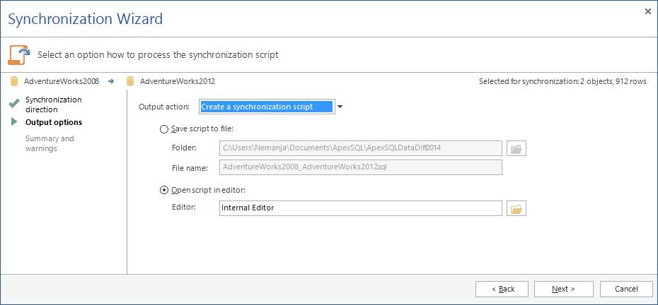 SQL SERVER - SQL Server Data Compare Tool 17