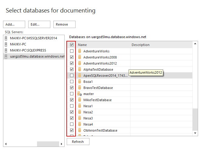 SQL SERVER – Documentation Tool image003