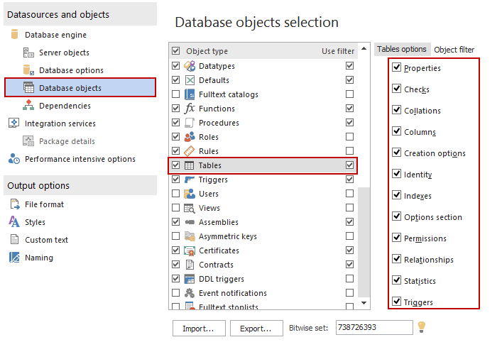 SQL SERVER – Documentation Tool image006