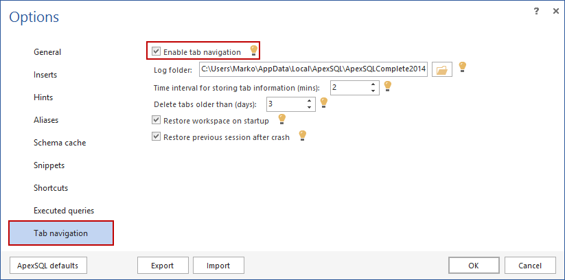 SQL SERVER – Free intellisense add-in for SSMS image006
