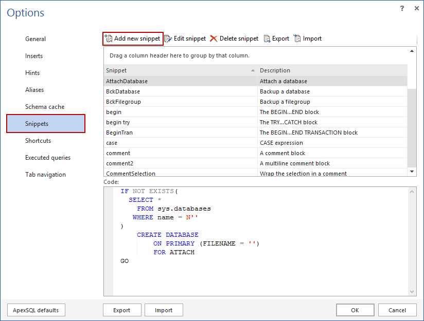SQL SERVER – Free intellisense add-in for SSMS image011