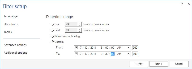 Update date in sql server query rollback last restart