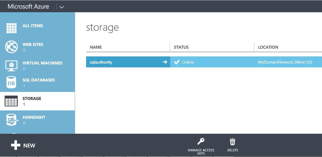 SQL SERVER - Backup to Azure Blob using SQL Server 2014 Management Studio azurebackups3