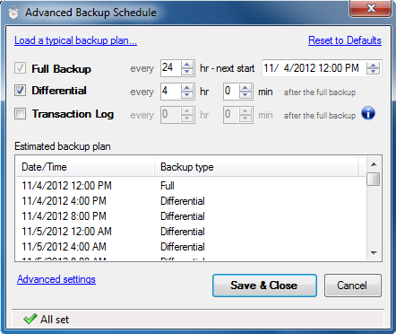 SQL SERVER - Sends backups to a Network Folder, FTP Server, Dropbox, Google Drive or Amazon S3 backupandftp2