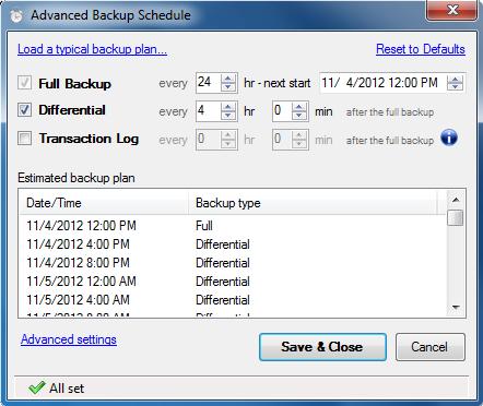 SQL SERVER - Sends backups to a Network Folder, FTP Server, Dropbox, Google Drive or Amazon S3 backupandftp2