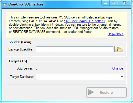 SQL SERVER - Sends backups to a Network Folder, FTP Server, Dropbox, Google Drive or Amazon S3 backupandftp3