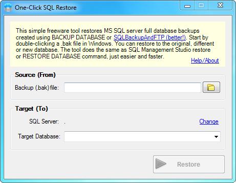SQL SERVER - Sends backups to a Network Folder, FTP Server