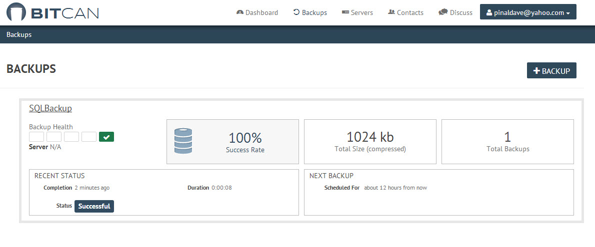 Database - Taking Backup of MySQL and MongoDB on Cloud 7