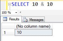 SQL Puzzle - A Quick Fun with Bit Wise Operator bitwisezero