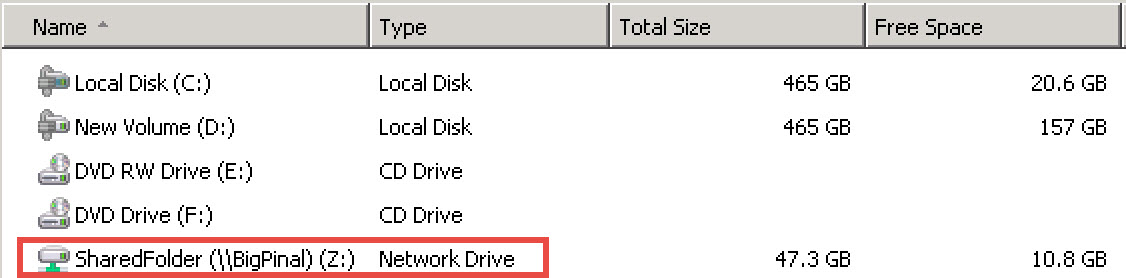 SQL SERVER - Backup on mapped drive failing with error - Error 3201, Level 16, State 1 bkp-map-drive-01