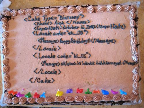 SQLAuthority News - Humorous SQL Cake - Funny SQL Cake cake1