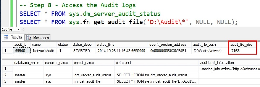 SQL SERVER - How to Chang Audit Location? change-audit-location-03