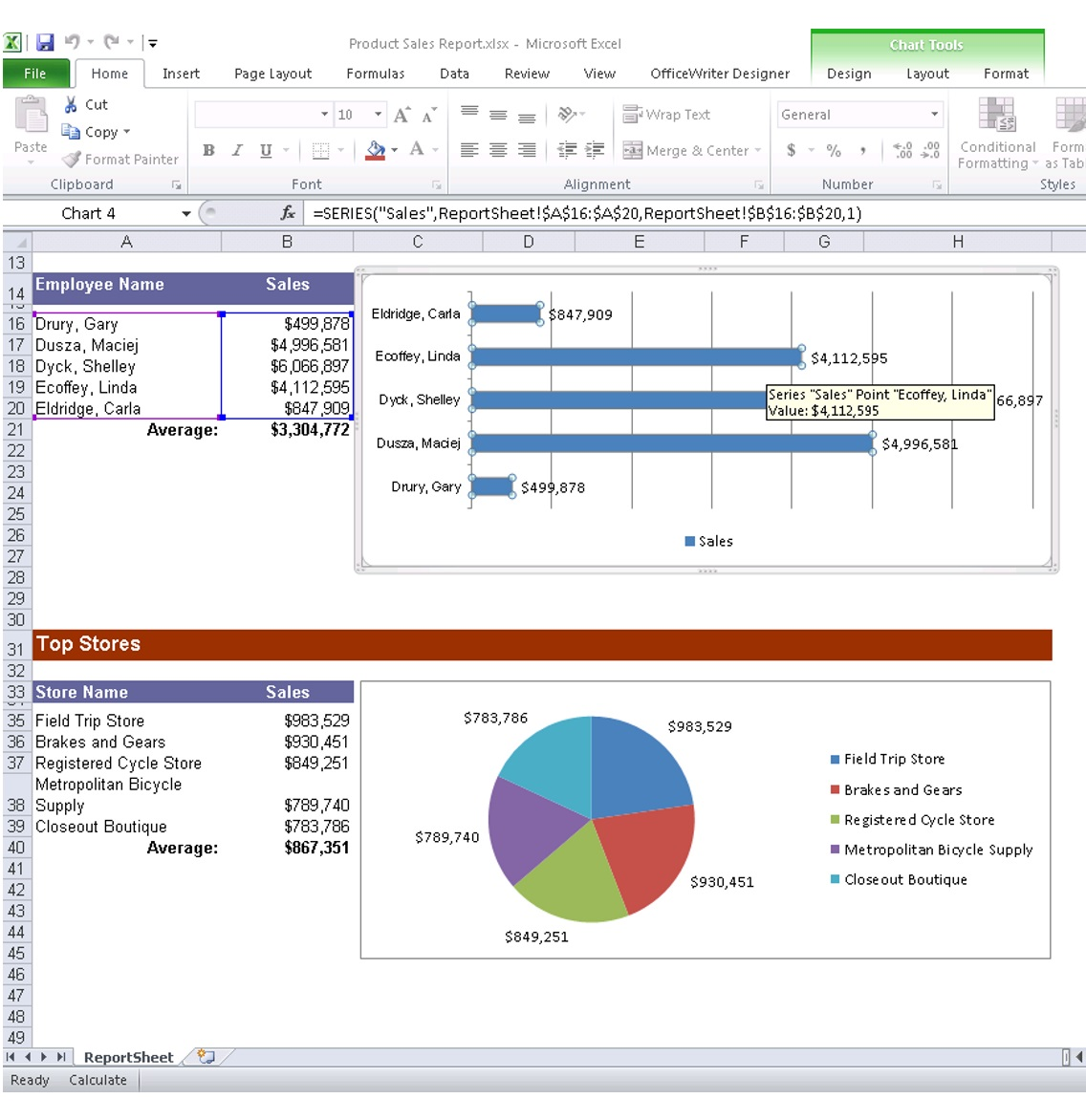 SQL Reporting - How to Add Excel and Word Reporting to Your Own