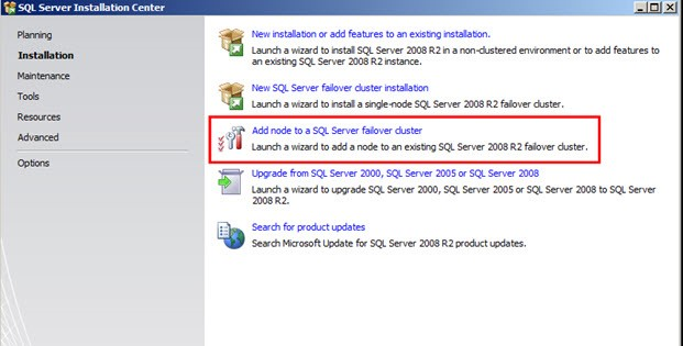"""SQL SERVER - Add Node in Cluster - Rule """"Node and cluster edition match"""" failed clusteradd1"""