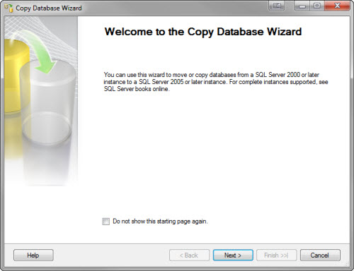 SQL SERVER - Copy Database from Instance to Another Instance - Copy Paste in SQL Server copywizard2