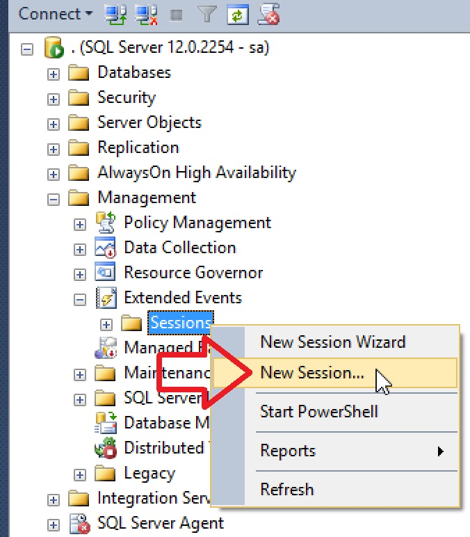 SQL SERVER - Filtering CPU Bound Execution Plans with Extended Events cpu-xevent-01