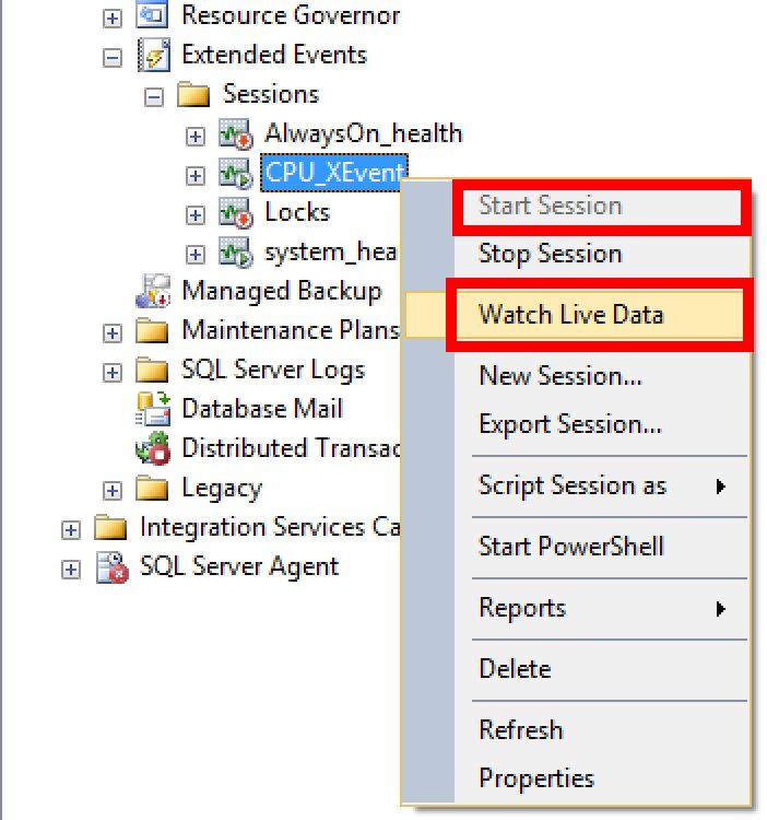 SQL SERVER - Filtering CPU Bound Execution Plans with Extended Events cpu-xevent-04