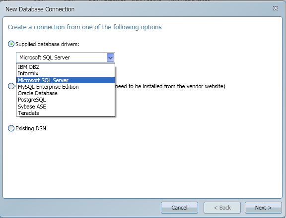 SQL SERVER - Import CSV into Database - Transferring File Content into a Database Table using CSVexpress database_connection1