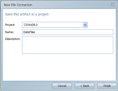 SQL SERVER - Import CSV into Database - Transferring File Content into a Database Table using CSVexpress file_connection2