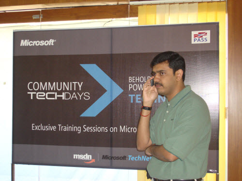 SQLAuthority News - Community TechDays in Ahmedabad - A Successful Event - Oct 3, 2009 CTD1