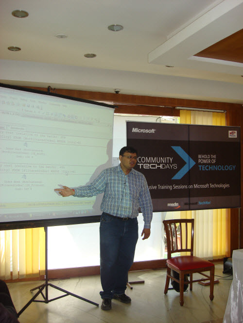 SQLAuthority News - Community TechDays in Ahmedabad - A Successful Event - Oct 3, 2009 CTD7
