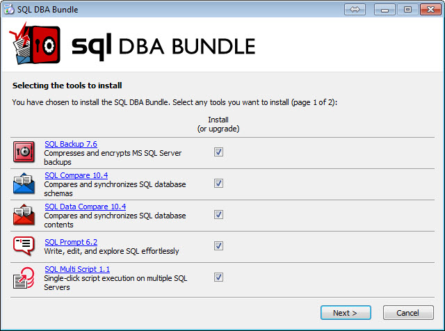 SQL SERVER - 7 Essential Tools to Support Core Database Administration - SQL DBA Bundle 1