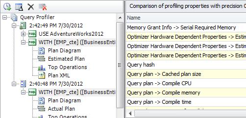 SQL SERVER - Development Productivity Tool - dbForge Studio for SQL Server query-profiler