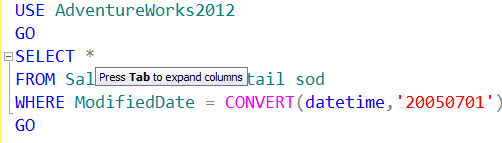 SQL SERVER - Auto Complete and Format T-SQL Code dbforge11