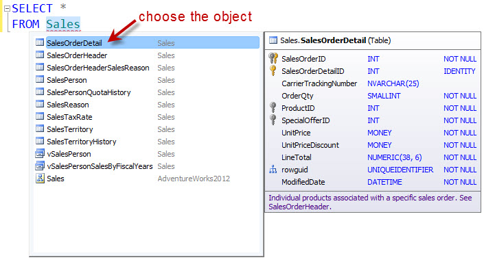 SQL SERVER - Auto Complete and Format T-SQL Code dbforge2