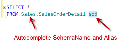 SQL SERVER - Auto Complete and Format T-SQL Code dbforge3