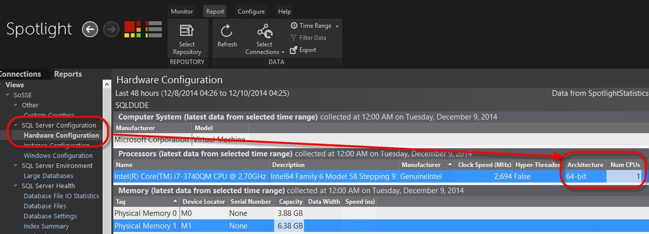 SQL SERVER - Proving that the Source of the Problems aren't Tied to the Database dell-15-12-1