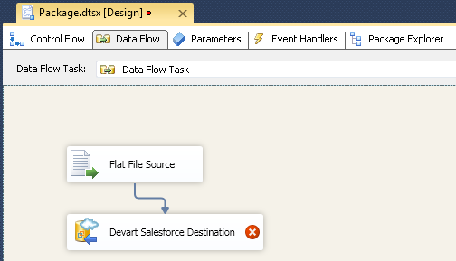 SQL SERVER - Using SSIS to Import CSV File into Salesforce Online Database with dotConnect for Salesforce from Devart 8