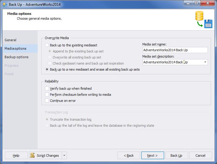 SQL SERVER - A Practical Use of Backup Encryption devbackup3