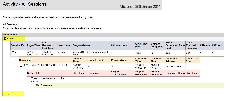 SQL SERVER - Activity Reports - Dormant Sessions dormant3