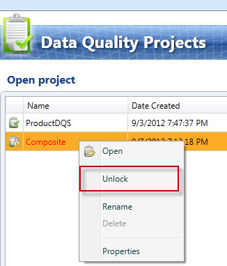 SQL SERVER - Unable to DELETE Project in Data Quality Projects (DQS)  dqs-delete