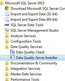 SQL SERVER - Installing Data Quality Services (DQS) on SQL Server 2012 dqs1