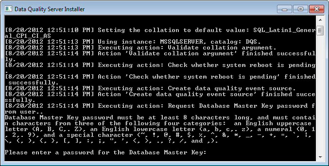 SQL SERVER - Installing Data Quality Services (DQS) on SQL Server 2012 dqs4