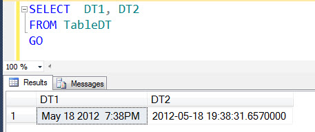 SQL SERVER - Saturday Fun Puzzle with SQL Server DATETIME2 and CAST dt1