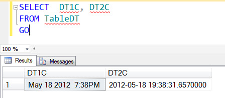 SQL SERVER - Saturday Fun Puzzle with SQL Server DATETIME2 and CAST dt2