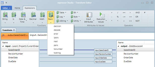 SQL SERVER – expressor Studio Includes Powerful Scripting Capabilities ec1