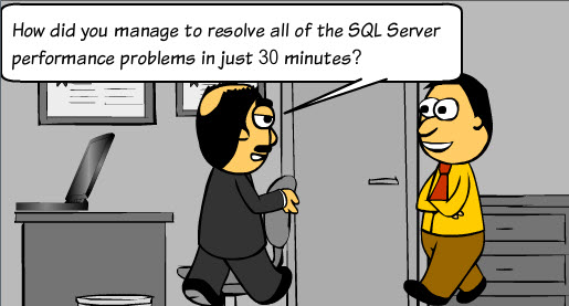 SQL SERVER - Caption the Cartoon Contest - Last 2 Days 5