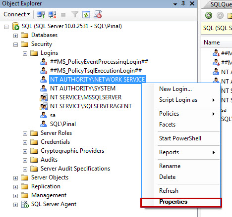 SQL SERVER - FIX : ERROR : Cannot open database requested by